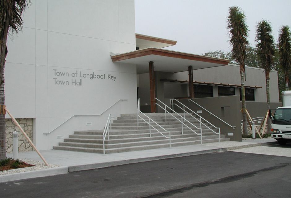 Longboat_City Hall_01 Longboat Key Town Hall